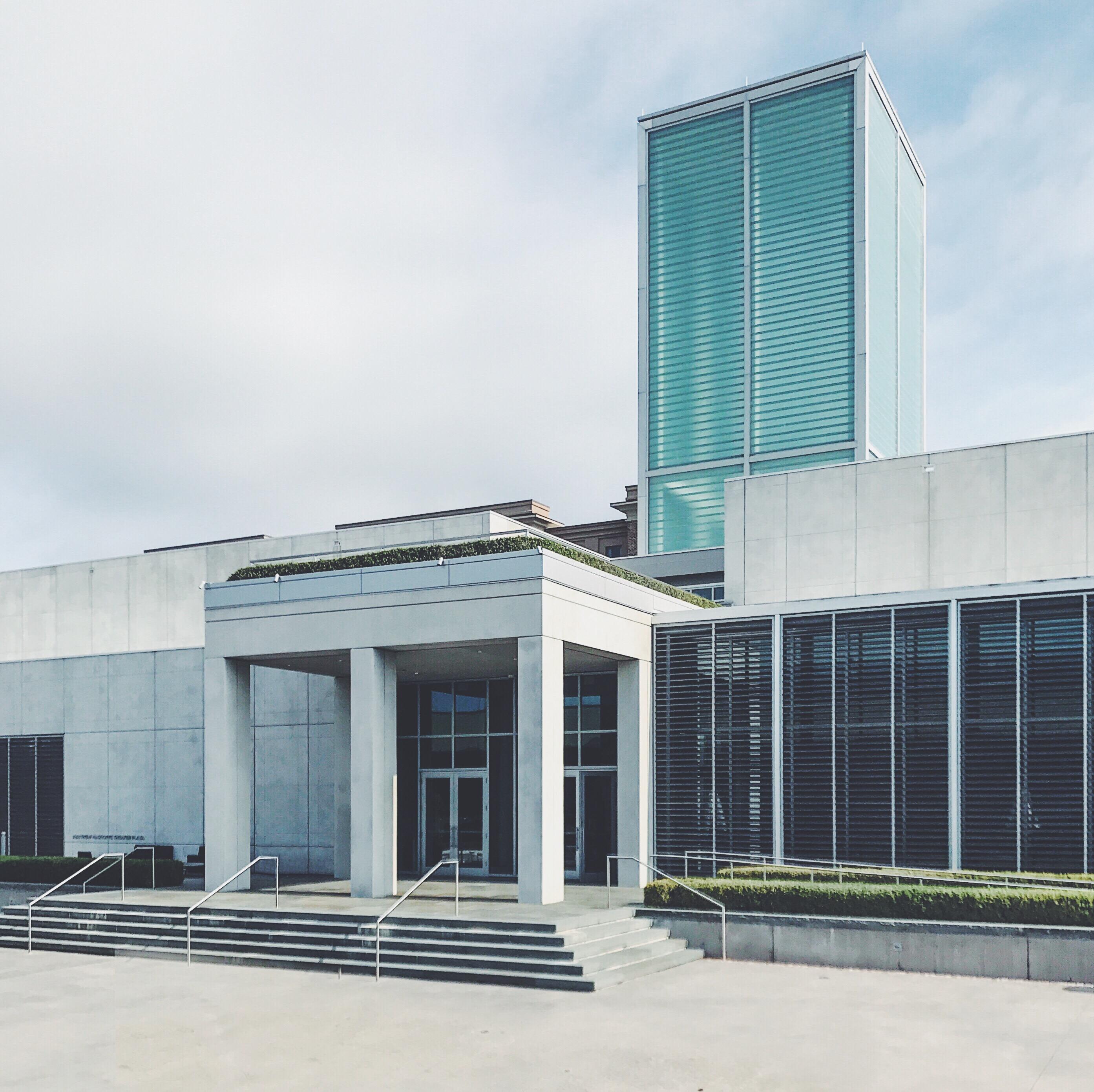 Le musée de la SCAD en face de la section architecture