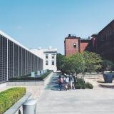 Le batiment architecture et le musée de la SCAD