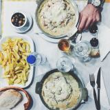 Un plat dans  un tasca : Bife a Casa